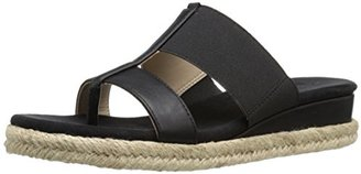 Adrienne Vittadini Footwear Women's Codie Wedge Sandal $69 thestylecure.com