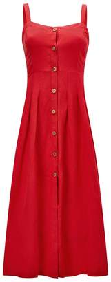 Joe Browns Button-Through Sleeveless Dress