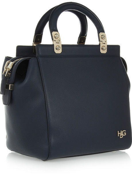 Givenchy Small House de bag in navy leather