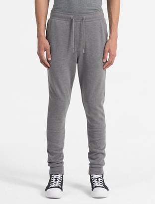 Calvin Klein slim fit cotton terry sweatpants