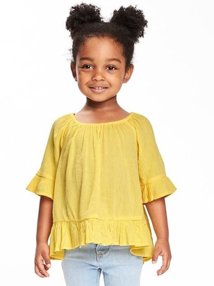 Off-the-Shoulder Swing Top for Toddler Girls $19.94 thestylecure.com