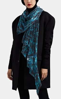 Botto Giuseppe Women's Tie-Dyed Cashmere Gauze Scarf - Blue