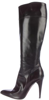 pradaPrada Pointed Knee Boots
