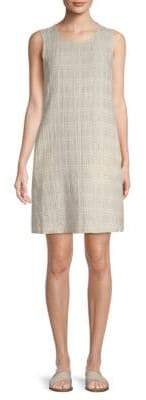 Eileen Fisher Check Shift Dress