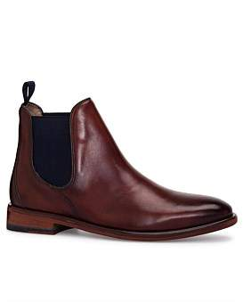 Oliver Sweeney Antique Calf Leather Chelsea Boot