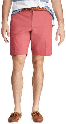 Chaps Men's Classic-Fit Stretch Flat-Front Shorts