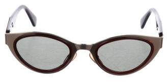 DKNY Cat-Eye Tinted Sunglasses