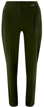 Dorothy Perkins Womens **Tall Khaki Button Detail Trousers