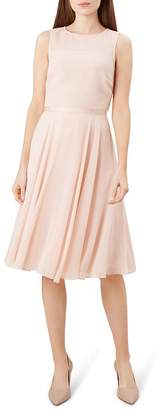 Hobbs London Abigale Fit-and-Flare Dress