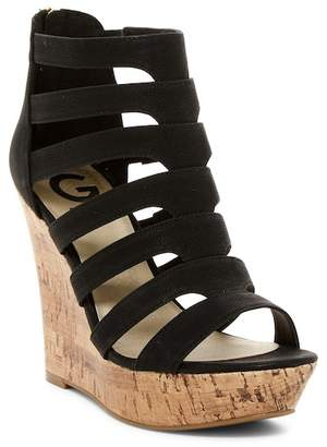 G by Guess Darien Platform Wedge Sandal