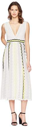 M Missoni Ribbon Wave Stripe Dress Women's Dress