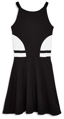 Aqua Girls' Color-Block Dress, Big Kid - 100% Exclusive