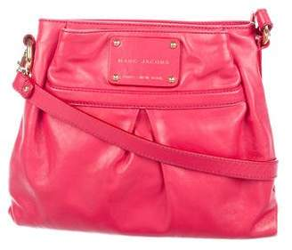 Marc Jacobs Pleated Leather Crossbody Bag