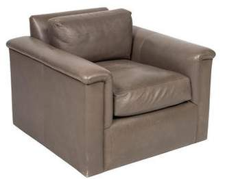 Rob-ert J. Robert Scott Leather Armchair