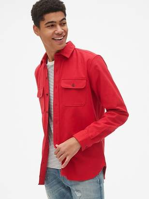 Gap Moleskin Shirt Jacket