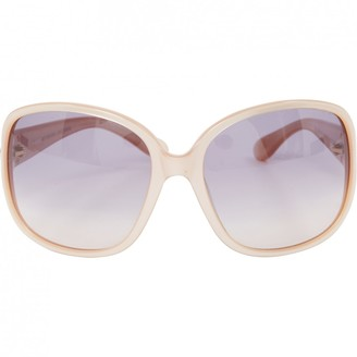 Marc by Marc Jacobs Pink Plastic Sunglasses