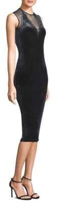 Elie Tahari Chesler Embellished Bodycon Dress