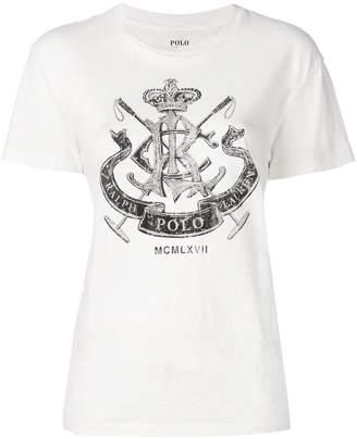 Polo Ralph Lauren crest graphic T-shirt