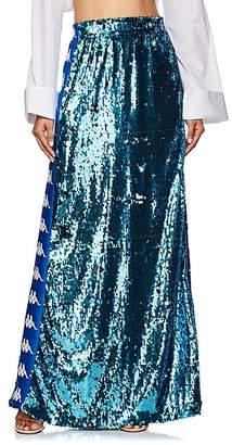 Faith Connexion Women's Sequined Maxi Skirt