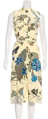 Gucci Silk Midi Dress w/ Tags