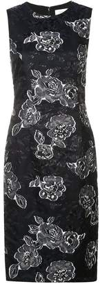 Prabal Gurung floral sleeveless dress