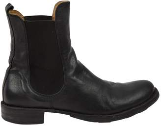 Fiorentini+Baker Black Leather Boots