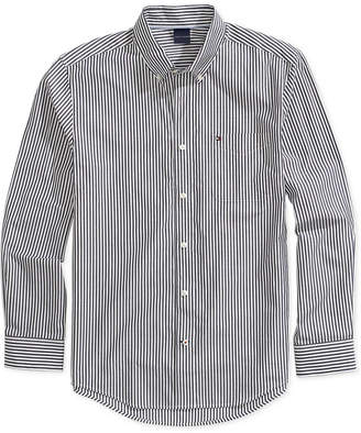 Tommy Hilfiger Adaptive Men Stripe Shirt with Magnetic Buttons