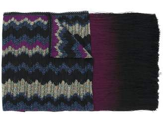 Missoni long fringed scarf