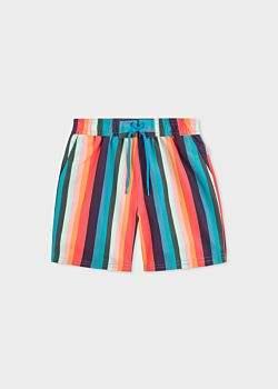 Paul Smith Boys' 8+ Years 'Artist Stripe' Swim Shorts