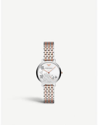 Michael Kors AR11113 stainless steel and rose-gold plated watch
