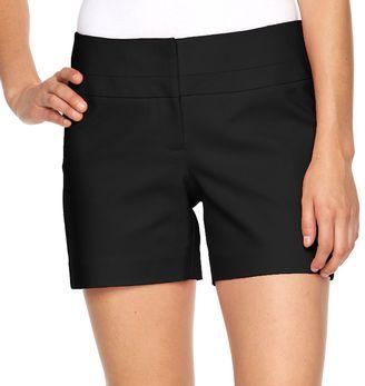 Women's Apt. 9® Modern Fit City Shorts $40 thestylecure.com