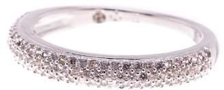 Nadri Pave CZ Thin Band Ring - Size 6