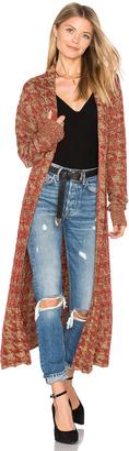 Tularosa x REVOLVE Annie Long Knit Coat $228 thestylecure.com
