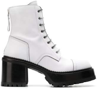 Premiata M4519 combat boots
