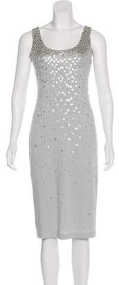 Donna Karan Embellished Sleeveless Dress