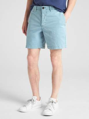 "Gap 7"" Washwell Vintage Wash Shorts with GapFlex"