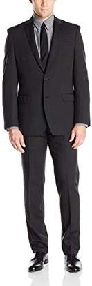 DKNY Men's Dekalb Two Button Slim Fit Suit