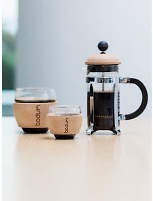 Bodum Pavina Coffee Glasses with Cork Band, 350ml, Set of 2