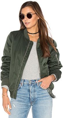 BB Dakota Atwood Jacket in Army $105 thestylecure.com