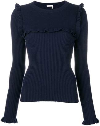 See by Chloe ruffle trimming sweater