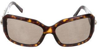 Salvatore FerragamoSalvatore Ferragamo Tortoiseshell Jewel-Embellished Sunglasses