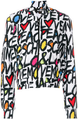 Love Moschino zipped sweatshirt