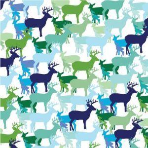 Avalisa Animal Patterns Collection Deer Wall Art