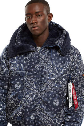 Opening Ceremony Alpha Industries For Paisley N-2B Parka