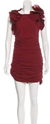 Isabel Marant Ruched Mini Dress
