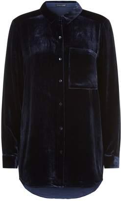 Eileen Fisher Velvet Shirt