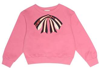 Gucci Kids Appliquéd cotton sweatshirt