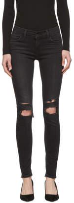 Levi's Levis Black Super Skinny 710 Innovation Jeans