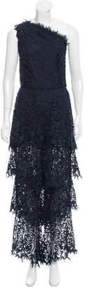 Osman One-Shoulder Lace Jumpsuit w/ Tags