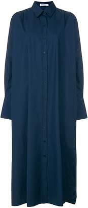 Jil Sander button-down midi dress